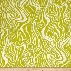 Swavelle/Mill Creek Indoor/Outdoor Guzzo Limelight from @fabricdotcom This indoor/outdoor fabric is stain and water resistant, very family friendly and perfect for outdoor settings and indoors in sunny rooms. It is fade resistant up to 500 hours of direct sun exposure. Create decorative toss pillows, cushions, chair pads, placemats, tote bags, slipcovers and upholstery. Colors include lime green and beige.