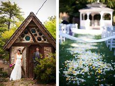 Marin Art and Garden Center Marin Garden Wedding Location San Francisco Bay Area Weddings 94957