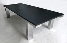 Natural stone table top - LIGTHWEIGHT STONE : SLATE - BROCATELLE