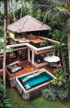 New House Ideas Exterior Mansions Luxury Ideas Future House, My House, Bali House, House In The Forest, Forest Home, Forest Cabin, Good House, Open House, Beautiful Homes