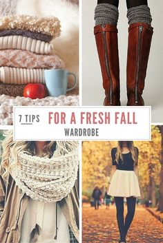 7 Tips for a Fresh Fall Wardrobe | featured on Her Tasty Life