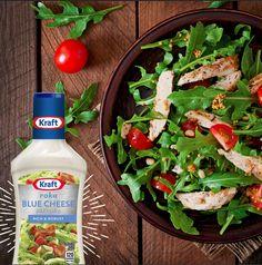 If you like it you should put a dressing on it. #KraftRD #KraftFood #Salad #KraftDressing