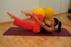 Winsor Pilates Ball Workout
