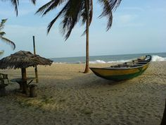 Bar Beach Victoria Island-Coastline of Lagos Nigeria.