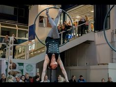Jenny Tan Aerial Hoop Act @ Greenwich Circus Festival 2014 - YouTube