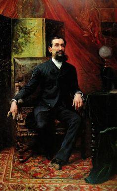 Retrato del Presidente Rojas Paúl (1890) Autor: Cristóbal Rojas