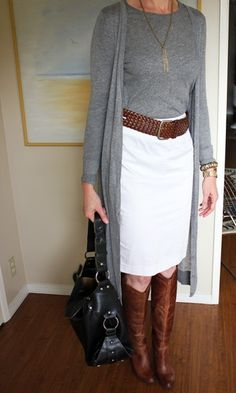 pencil skirt after forty - Google Search