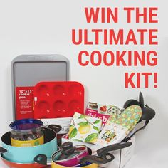 Facebook Twitter PinterestHere is an offer where you can enter to win an Ultimate Cooking Kit. Ends on October 11, 2016. ENTER HERE
