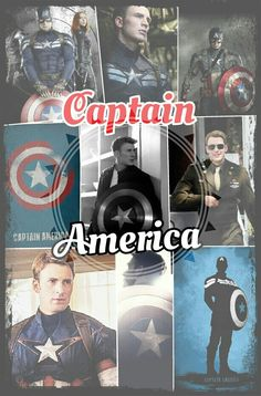 Captain America collage done by Kaitlyn's Collages (kaitlynbeasley1)! If you want one please comment (to the other pinner, not me. I have no artistic talent and you will be very disappointed)! If you repin please give credit!! :)