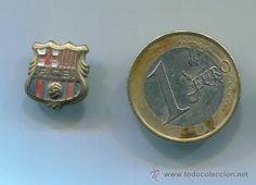 antiguo pin de aguja - escudo futbol club barcelona (Otros Coleccionismos - Pins) 5 €