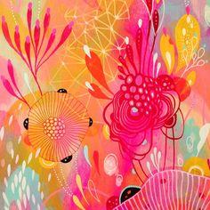 Illustrations, Illustration Art, Yellena James, Wow Art, Alcohol Ink Art, Arte Pop, Art Journal Pages, Painting Inspiration, Art Lessons