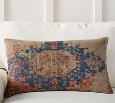 Navin Print Lumbar Pillow Cover #potterybarn