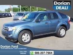 2012 Ford Escape XLT 105k miles $8,995 105572 miles 586-207-7664 Transmission: Automatic  #Ford #Escape #used #cars #DorianFord #ClintonTownship #MI #tapcars