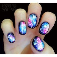 Resultado de imagen para nails galaxy