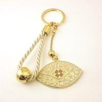 Γούρι Κλειδοθήκη Εκρού ΓΟ10116 Measuring Spoons, Charms, Pendants