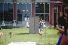 Create a grand entrance for the bride, even for an outdoor wedding! Victoria Wedding, Grand Entrance, Chicago Wedding, Wedding Planner, Weddings, Bride, How To Plan, Create, Outdoor