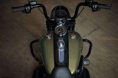 Harley-Davidson Road King Special cockpit view