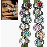 Ring watches, I had one but I don't remember wearing it because it was kind of huge and weird.
