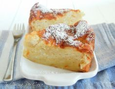 Torta di mele soffice senza burro e olio - In Cucina Per Caso   Fat free soft apple cake