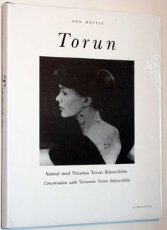 This is the most recent edition of the biography of the celebrated Swedish silversmith, Vivianna Torun Bulow-Hube by Ann Westin. In this book, we discover ...