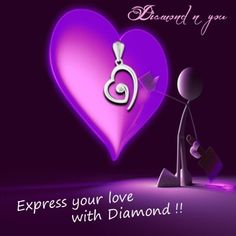 Expressing your love in the upcoming valentine season gets easy with these stunning pendant designed to be exclusive and filled with love. Tell her how much you love her with diamond set in sterling silver in a brilliant heart shaped design. Click here http://diamondnyou.com to know the price and our exclusive offer!