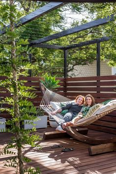 Eventually wisteria will cover the pergola in the back yard An Energy Efficient Renovation in Bayswater House Nerd Patio Pergola, Wisteria Pergola, Corner Pergola, Pergola Shade, Pergola Plans, Backyard, Pergola Ideas, Wisteria Garden, Small Pergola