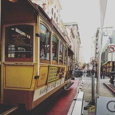 Cable car #sanfrancisco #california #transport #vintage by montoyaa