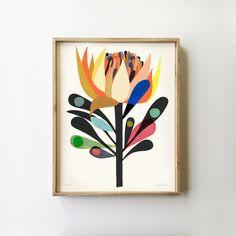 New Dawn Limited Edition Botanical Art Print