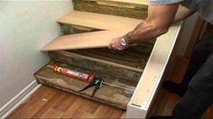 Stairs repairs - YouTube