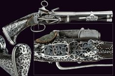 A beautiful miquelet flintlock pistol                                                     category:     A Selection of Fine Arms II                    provenance:     Spain                    dating:       18th Century