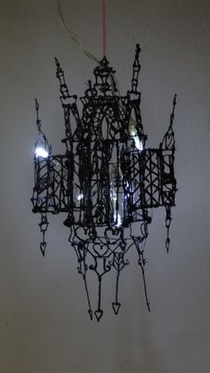 3Doodled Lamp from Silvia Borgers #WhatWillYouCreate #3Doodler #DIY