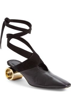 J.W.ANDERSON Cylinder Heel Ballet Slide (Women) available at #Nordstrom