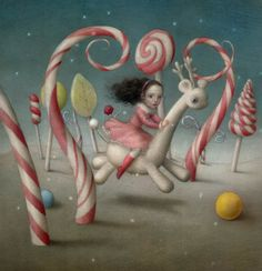 The Sweetest Journey -Nicoletta Ceccoli