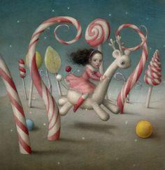 The Sweetest Journey -Nicoletta Ceccoli
