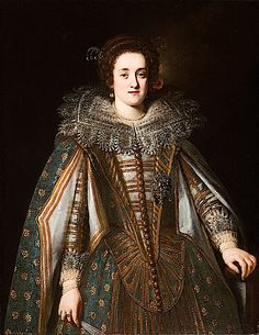 Margherita de' Medici (1612-1679), Duchess of Parma and Piacenza, by her marriage to Odoardo Farnese, Duke of Parma. She was the fourth of eight children and the second daughter born to Cosimo II de' Medici, Grand Duke of Tuscany and his wife Maria Magdalena of Austria.  Margherita's other siblings died in childhood or early adulthood. On September 11, 1646, Odoardo died. Their eldest son, Ranuccio, was not old enough to rule the Duchy so Margherita acted as regent.