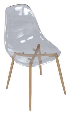 Mobilier - Le Coin Repas - Chaises - Chaise LYNETTE Transparente