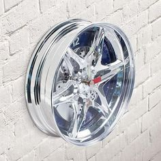 Wheel Rim Wall Clock