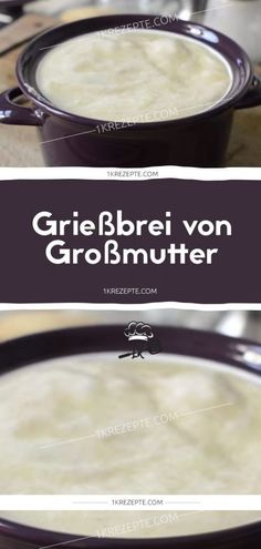 Semolina porridge from grandmother - Grießbrei von Großmutter – # Semolina porridge from grandmother – # - German Desserts, Sweet And Spicy, Confectionery, No Bake Cake, Soul Food, Cake Recipes, Sweet Treats, Clean Eating, Food Porn