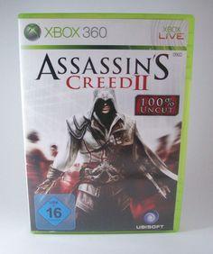 #Assassins #Creed II 2 #Microsoft #XBOX #360 #Spiel KOMPLETT mit Anleitung und in OVP #XBOX360 #AssassinsCreed #eBay