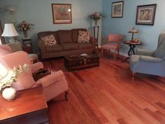 """Ours was a total overhaul and the flooring just made everything 'POP'. We now live in the living room."" - Scott, IL"