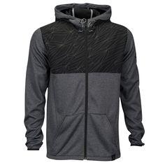 adidas Standard One Reflective Full Zip Hoodie - Men's