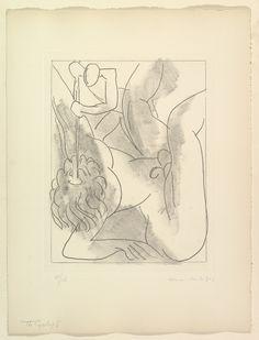 'The Cyclops' Polyphème (one of six etchings illustrating James Joyce's Ulysses) 1934, Henri Matisse