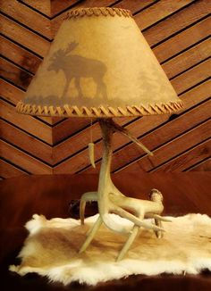 making a deer horn lamp - Google Search