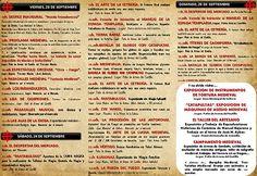 Programacion del XII MERCADO MEDIEVAL MACÍAS EL ENAMORADO en Arjonilla, Jaen del 23 al 25 de Septiembre del 2016 http://www.demercadosmedievales.info/mercado-medieval/xii-mercado-medieval-macias-el-enamorado-en-arjonilla-jaen-del-23-al-25-de-septiembre-del-2016/