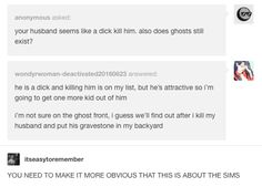 On the importance of clarity: | 27 Times Anonymous Questions On Tumblr Were Genuinely Hilarious
