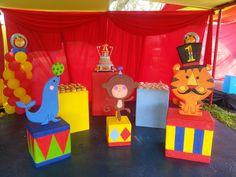 fiestas tematicas de circo - Buscar con Google