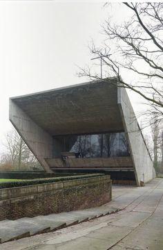 Juliaan Lampens: Our lady of Kerselare pilgrimage chapel, Edelare, Belgium, 1966