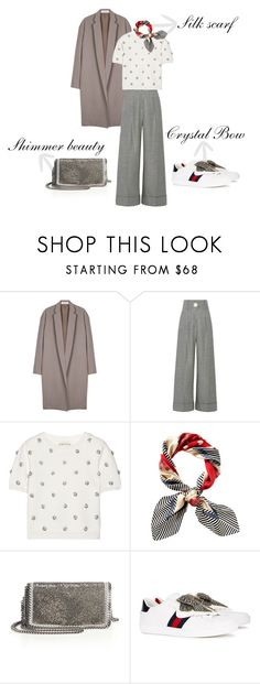 """""""Comfy&Chic"""" by petra-milas ❤ liked on Polyvore featuring Organic by John Patrick, Petar Petrov, Alice + Olivia, Juicy Couture, STELLA McCARTNEY and Gucci"""