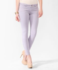 Life In Progress™ Zipped Twill Pants | FOREVER21 - 2008586125