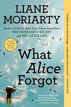 """What Alice Forgot by Liane Moriarty  """"But maybe every life looked wonderful if all you saw was the photo albums.""""  https://www.amazon.ca/dp/B004XFYN9M/ref=cm_sw_r_pi_dp_x_ar01xbBXDPTR6"""